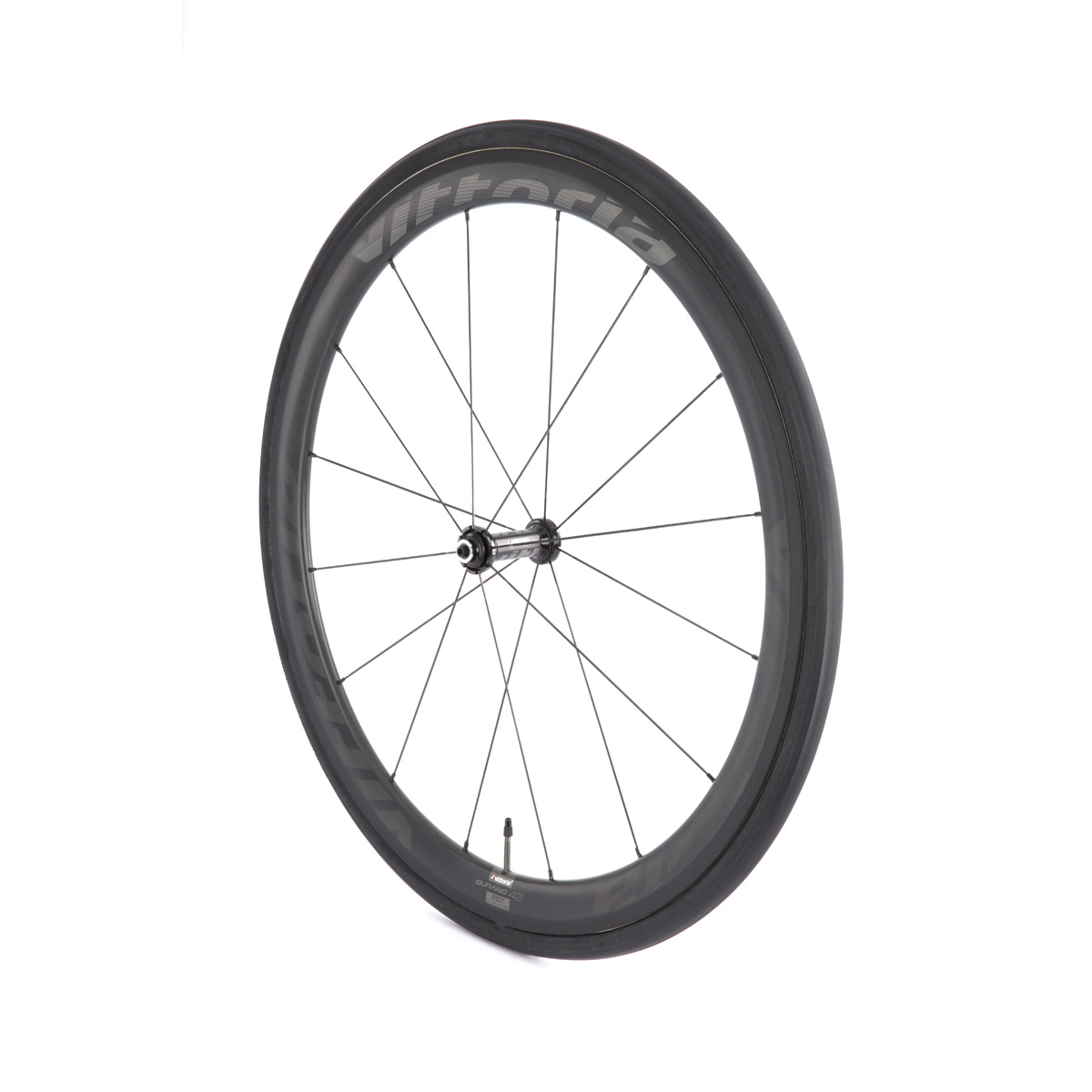 Vittoria Qurano 46 Carbon Tubular Road Bicycle Wheelset