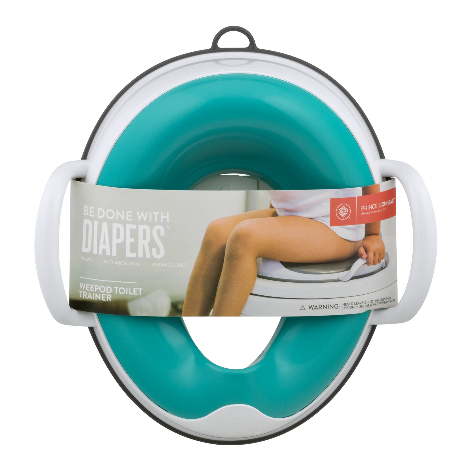 Prince Lionheart Be Done with Diapers Weepod Toilet Trainer, 1.0 CT