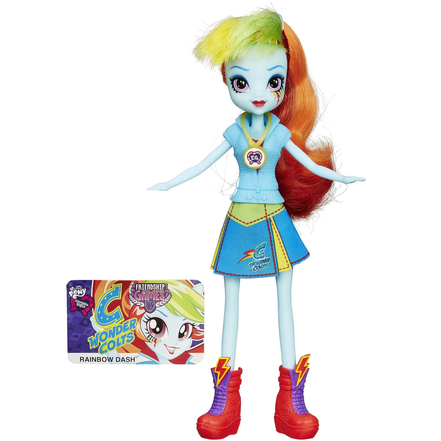 My Little Pony Equestria Girls Rainbow Dash Friendship Games Doll by Hasbro