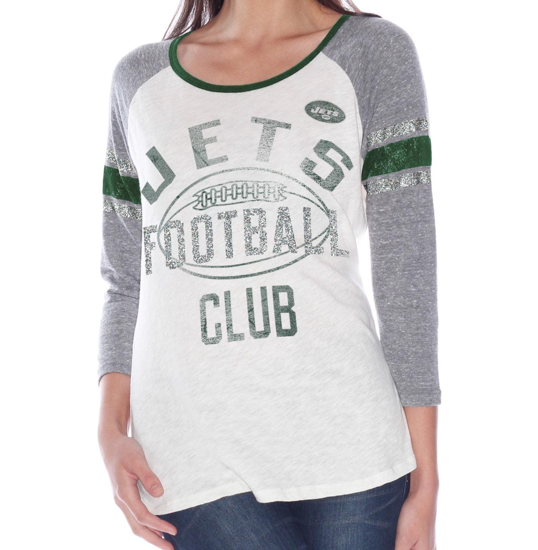 "New York Jets Women's G-III NFL ""Wishbone"" Long Sleeve Shirt"