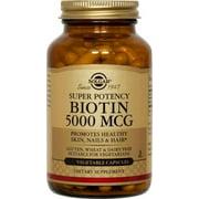Solgar Biotin 5000 mcg - 50 Vegetable Capsules