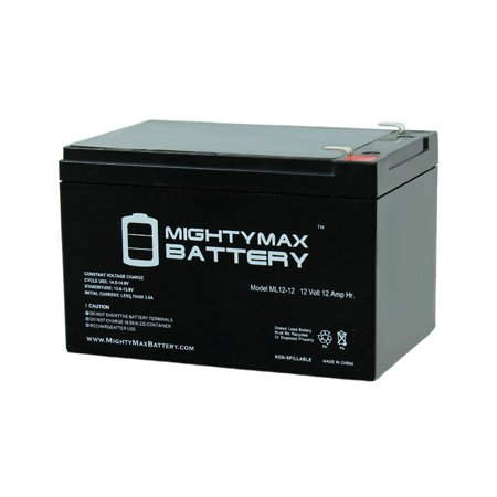 ML12-12 - 12V 12AH F2 SLA AGM DEEP-CYCLE RECHARGEABLE (Valve Regulated Agm Battery)