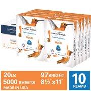 Hammermill Printer Paper, 20lb Premium Multipurpose Copy Paper 8.5x11, 10 Ream