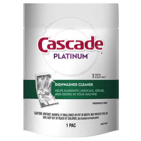Cobblestone Cascade - (2 Pack) Cascade Dishwasher Cleaner Fresh Scent 1 Count