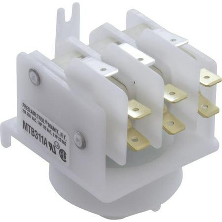 Pres Air Trol MTB-311A Air Switch 4 Function Blue Cam