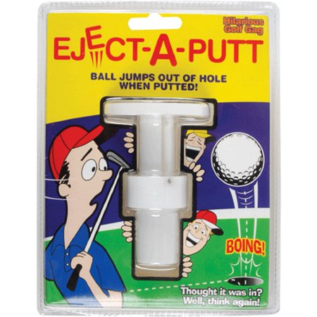 Pop-A-Putt Golf Joke Eject Prank Funny Gag Golfing Putting Play Game