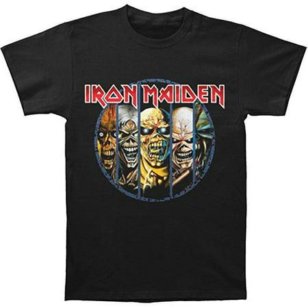 Iron Maiden Eddie Evolution Men's T-Shirt - Iron Maiden Eddie Halloween