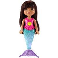 Dora The Explor-nick Dora & Friends Sparkle/swim Mermaid Dora