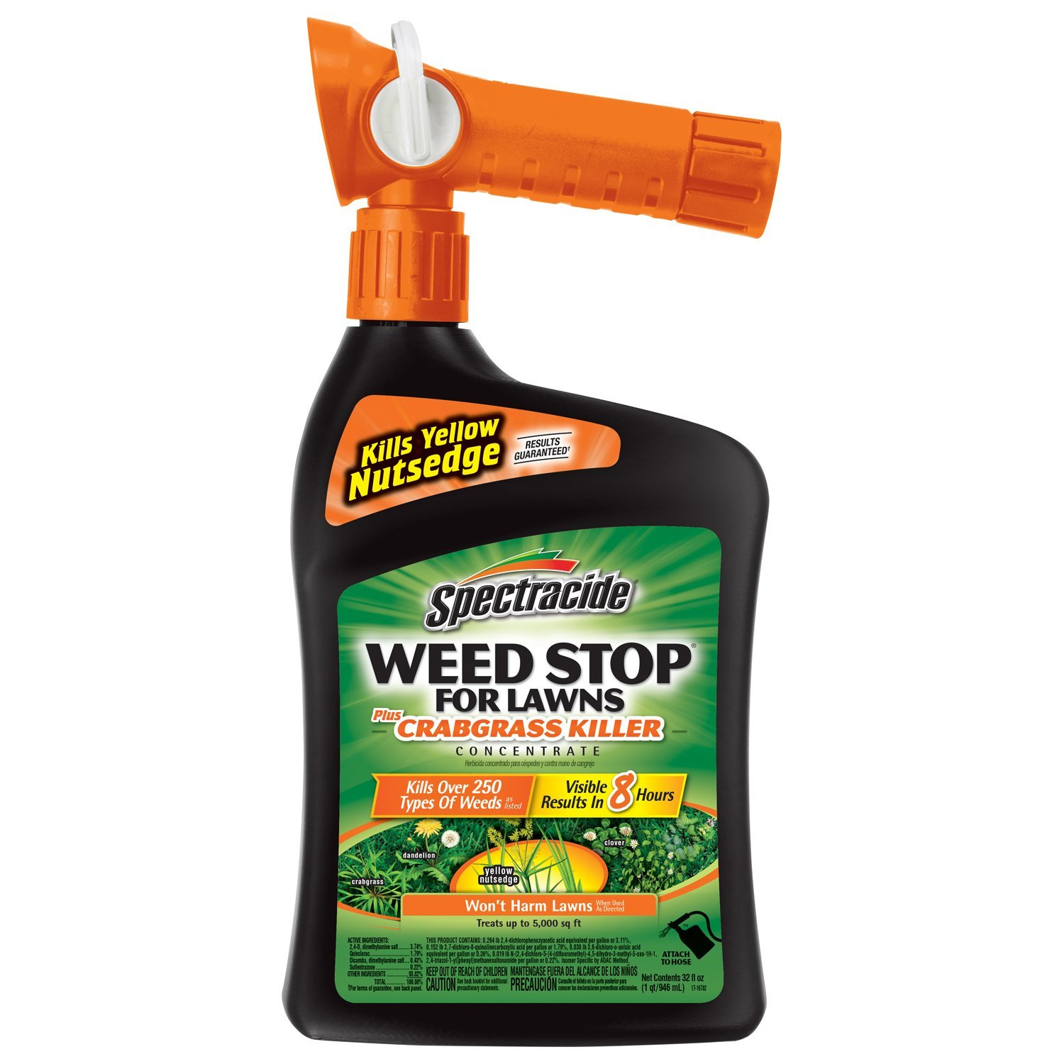 Spectracide Weed Stop For Lawns + Crabgrass RTS Concentrate