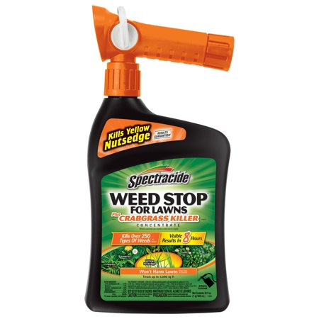 - Spectracide Weed Stop For Lawns Plus Crabgrass Killer Concentrate, Ready-to-Spray, 32-fl oz