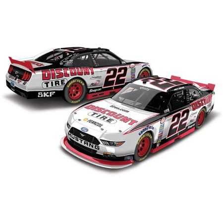 Lionel Racing Joey Logano #22 Discount Tire 2017 Ford Mustang Car 1:24th Scale ARC HO Official Diecast of the NASCAR Xfinity Series