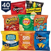 Frito-Lay Fun Times Snacks Mix Variety Pack, 1 oz Bags, 40 Count