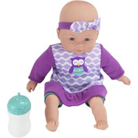 """My Sweet Love 12.5"""" My Cuddly Baby with Sound Effects, Purple Outfit"""