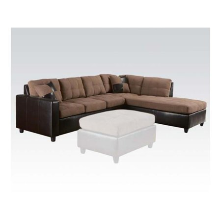 Acme Furniture 51330 Living Room Reversible Sectional Sofa