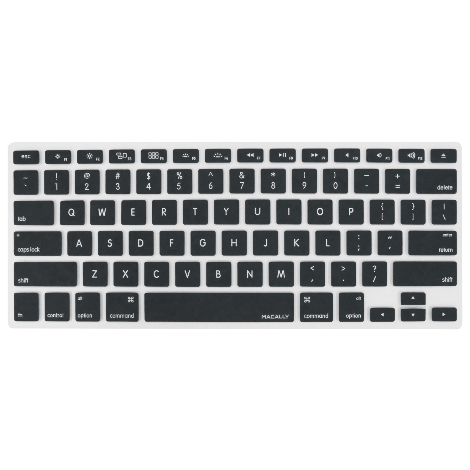 Macally Silicone Keyboard Cover for MacBook Pro/MacBook Air