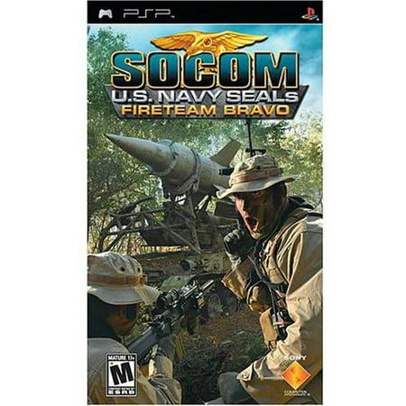 Socom  U S  Navy Seals Fireteam Bravo  Psp