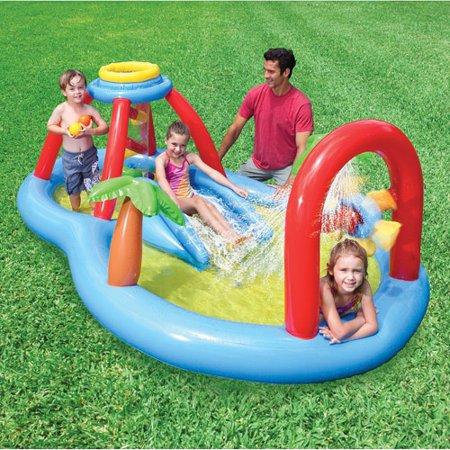Windmill Water Slide Play Center