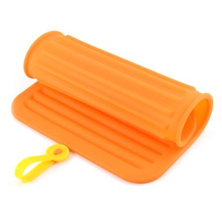 Silicone Rectangle Design Heat Resistance Bowl Pot Plate Mat Pad Coaster Holder - image 1 de 3