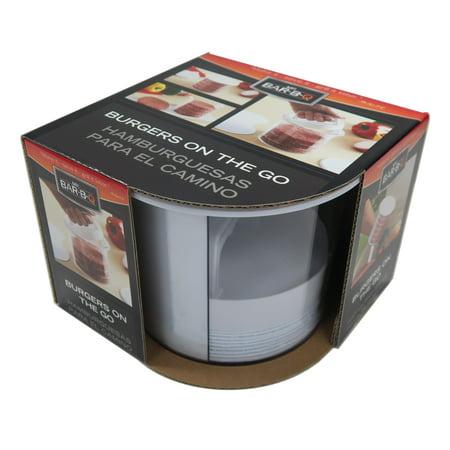 Mr. Bar-B-Q® Multi Layer Burger Press & Storage (Mr Bar Bq 40231x Multi Layer Burger Press)