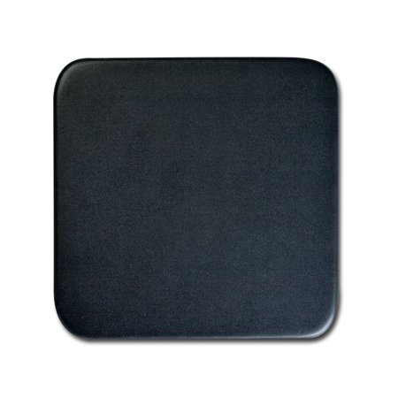 - Dacasso Classic Black Leatherette Square Coaster