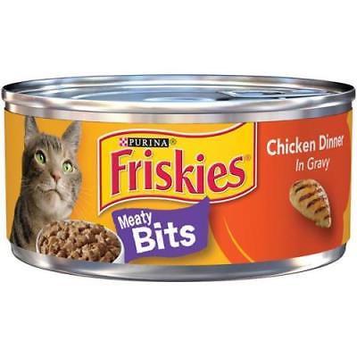 10PK Friskies Meaty Bits Chicken Dinner In Gravy (Halloween Dinner Ideas Chicken)