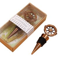 Fancyleo 1Pc Compass Wine Bottle Stopper Wedding Favors And Gifts Wedding Gifts For Guests Wedding Souvenirs Party Supplies