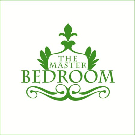 The Master Bedroom Vinyl Sticker Medium Grass