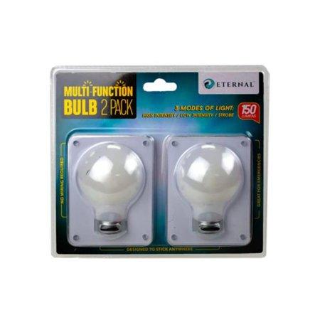 Kole Imports GL987-12 Bulb Shaped Multi Function Switch Light - Pack of 2 - Case of 12 - image 1 de 1