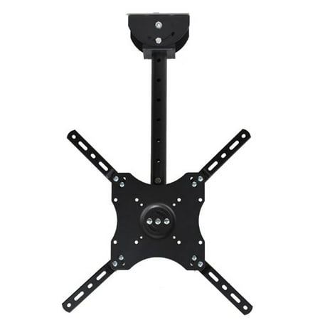 "VideoSecu Tilt Swivel TV Ceiling Mount Bracket for 24""-50"" LED LCD Plasma LG Panasonic Dynex RCA Sansui Toshiba BW1"