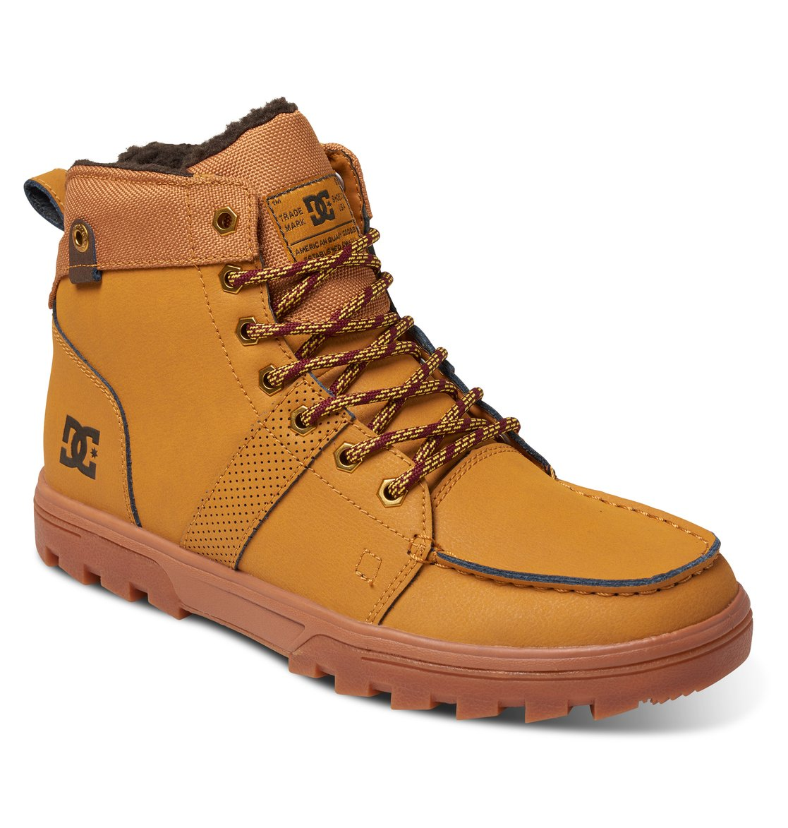 Woodland Snow Boots Tan Leather