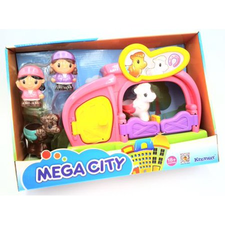 - Pony Stable Mega City Play Set