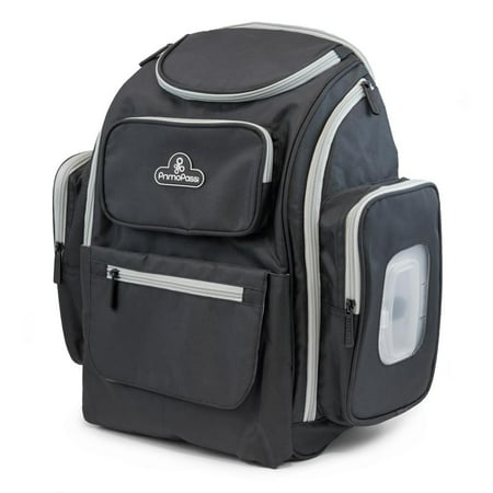 Backpack Insulated Bag - Primo Passi Backpack Diaper Bag, Grey