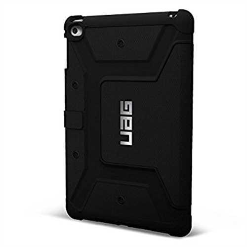Refurbished UAG Folio iPad Mini 4 Retina Feather Light Composite [BLACK] Military Drop Tested iPad Case
