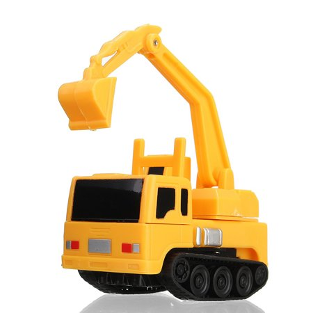 magic mini pen inductive toy car excavator model follow any draw