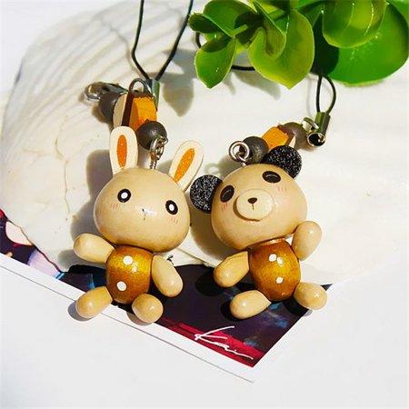 99b46d3047ef33 Blancho Bedding - C023-RAPA Smile Animals 3 - Cell Phone Charm Strap Camera  Charm Strap & Handbags Charms - Walmart.com