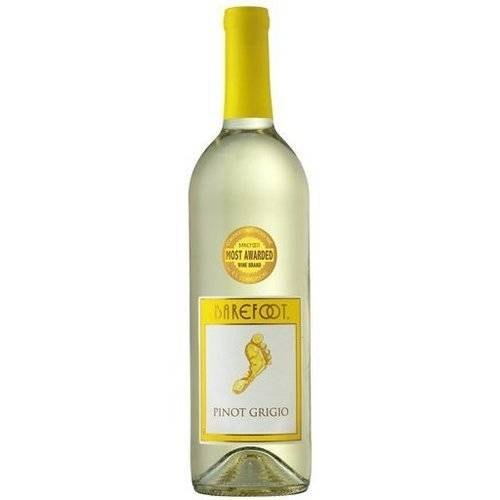 Barefoot Cellars Pinot Grigio Wine, 750 mL