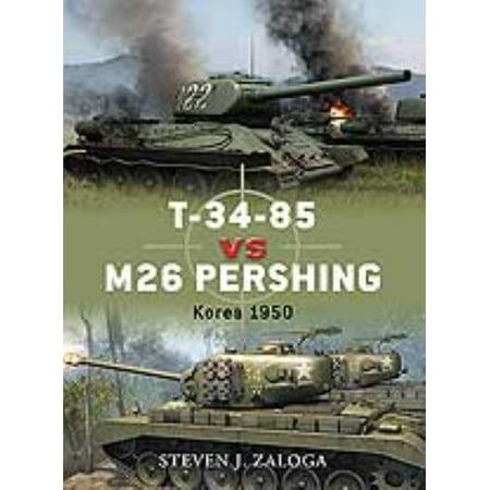 T 34 85 Vs M26 Pershing  Korea 1950