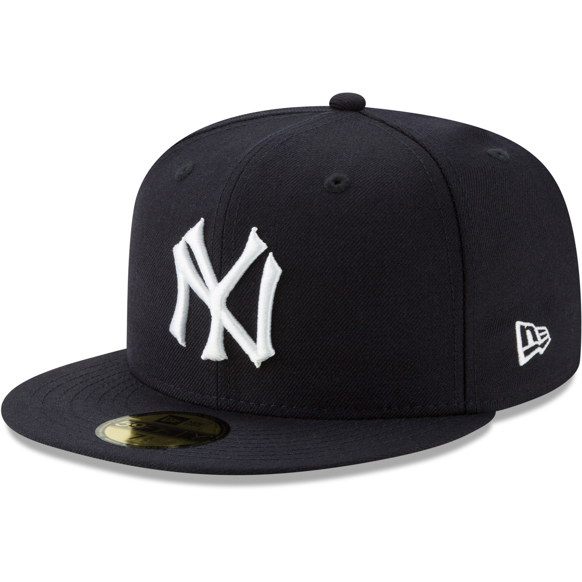 New York Yankees New Era Cooperstown Collection Alt Logo Pack 59FIFTY Fitted Hat - Navy
