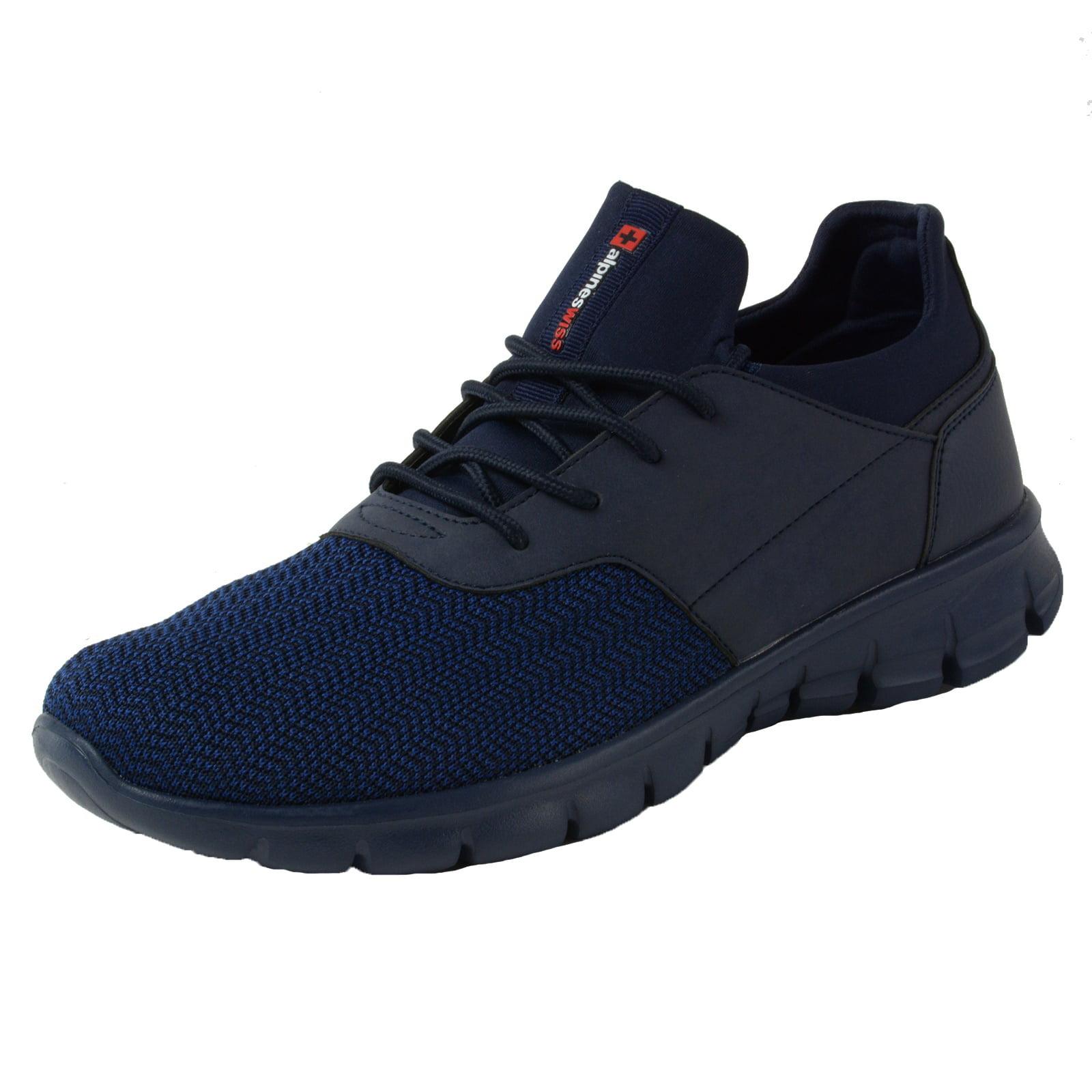 Alpine Swiss Leo Men Sneakers Flex Knit Tennis Shoes Casual Athletic Lightweight by