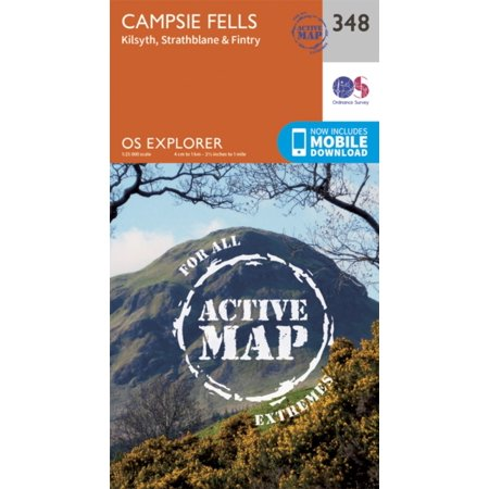 - OS Explorer Map Active (348) Campsie Fells (OS Explorer Active Map) (Map)