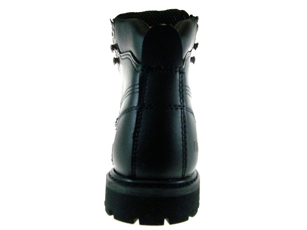 Eagle Men's 605S Full Leather Heavy Duty Steel Toe Safty Work Boots Oil Resistant Sole