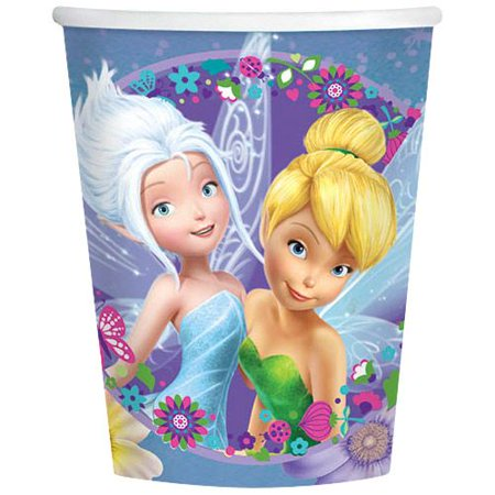 Tinkerbell 9Oz Cups (8 Pack) - Party Supplies - Tinkerbell Party Theme
