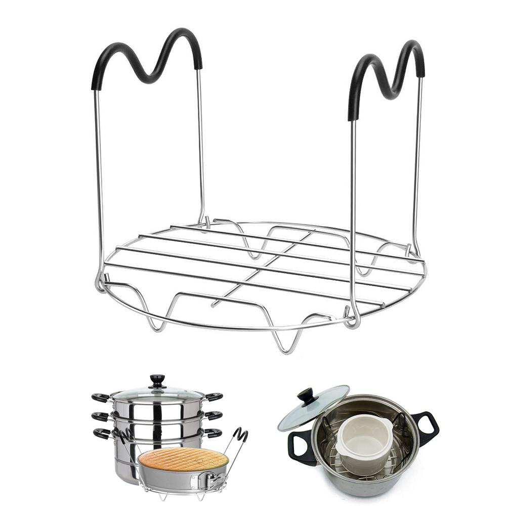 Trivet Steamer Cabinet Compatible for 6,8 Quart Pressure Cooker Trivet,304 Steel