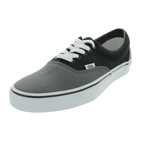 Grey Vans - Vans  Era Skate Shoes (Pewter/Black)