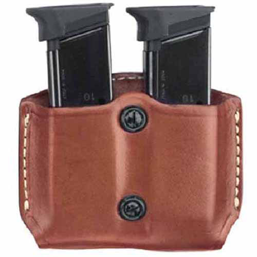 Gould and Goodrich 831-1 Gold Line Double Magazine Case