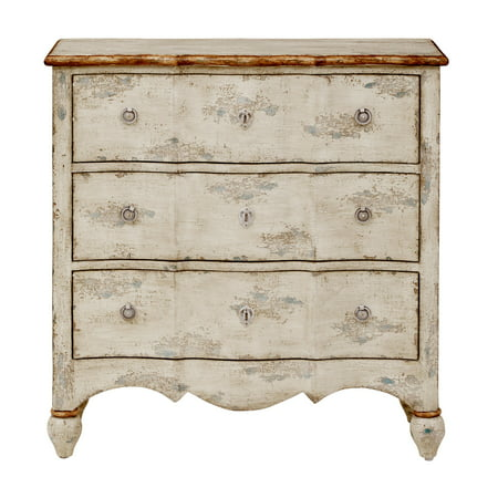 - Three Drawer Accent Chest in Farmhouse Cream