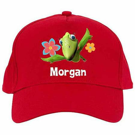 Personalized Dinosaur Train Tiny's Flying Fun Red Baseball Cap - Dinosaur Hat