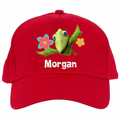 Personalized Dinosaur Train Tiny's Flying Fun Red Baseball Cap