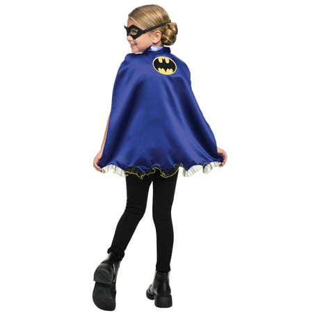 Batgirl Cape and Mask Set - Batman And Batgirl Couple Costume