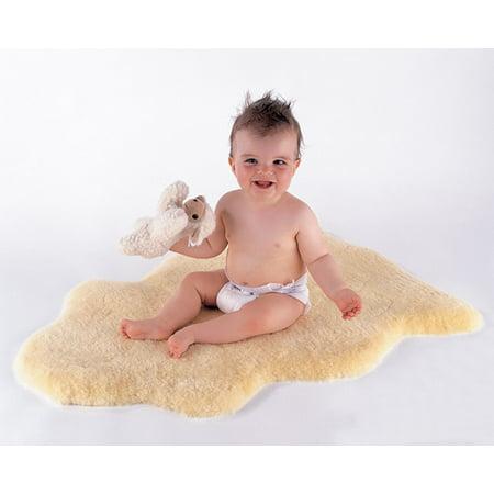 Kaiser Lambskin Rug For Baby ()